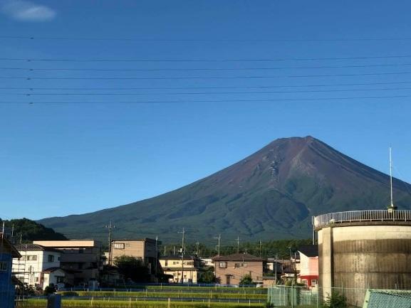 本日の富士山の画像