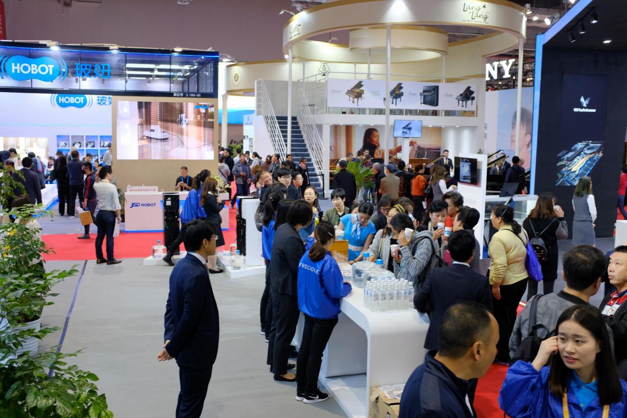 中国国際輸入博覧会の様子