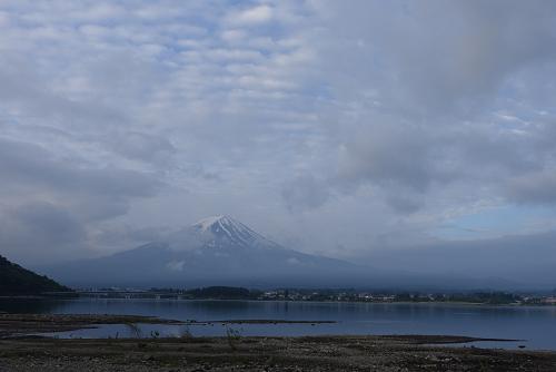 世界遺産ヨガ当日の富士山