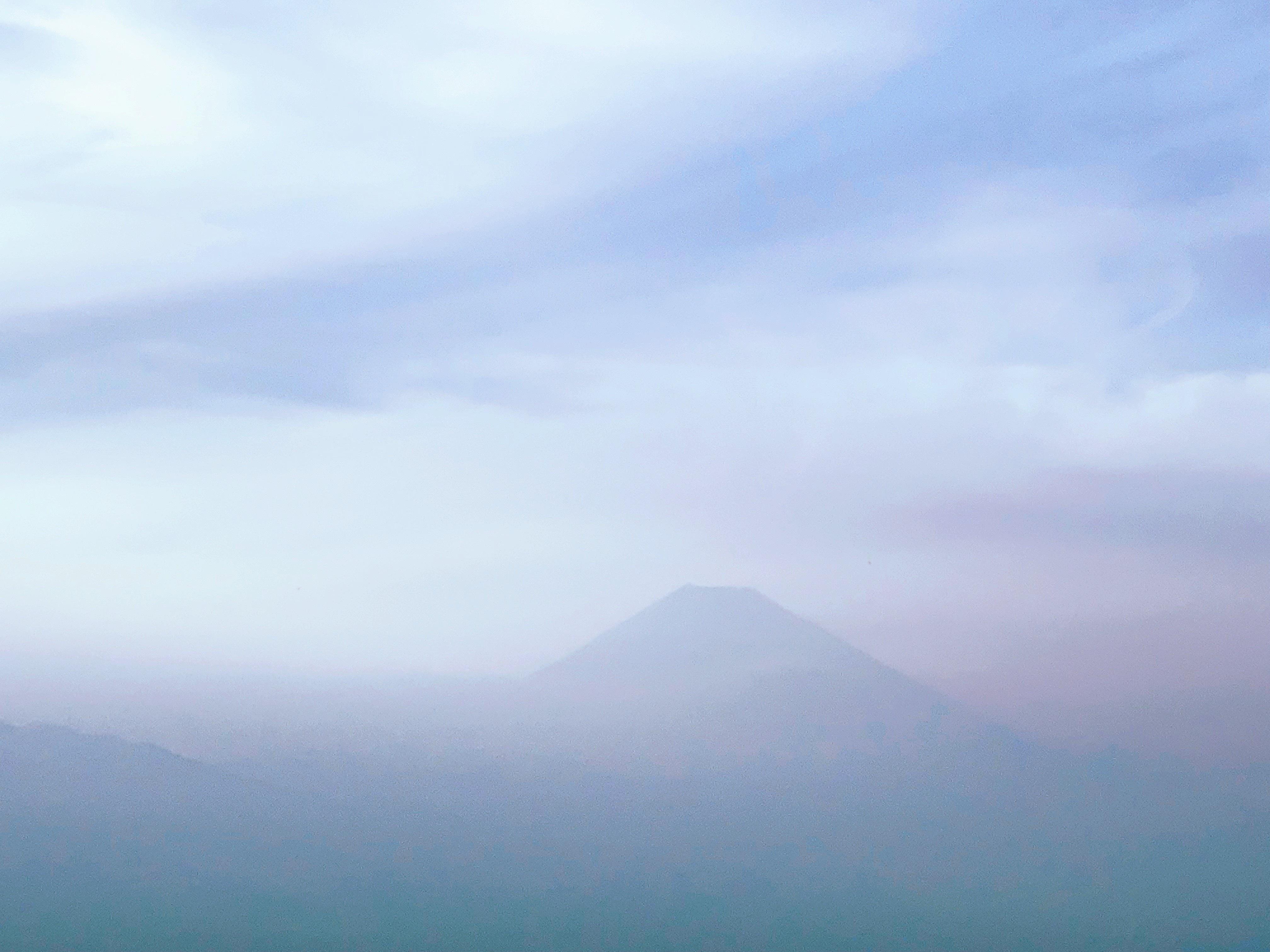 本日の富士山の写真