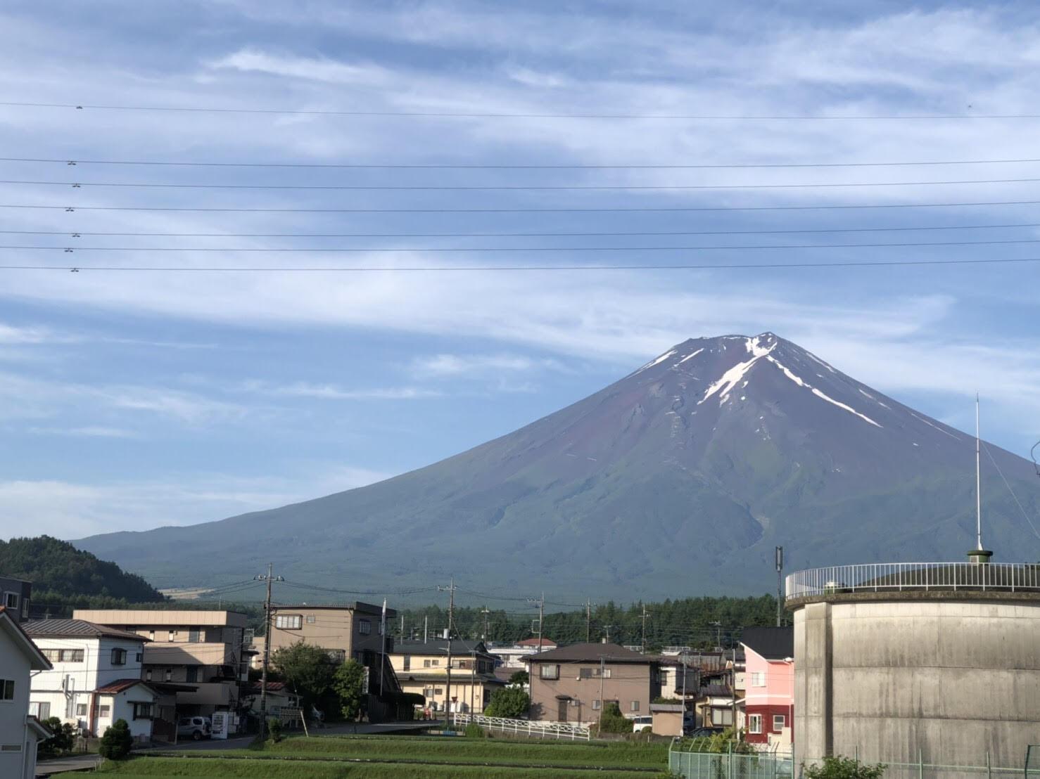 7月の富士山の写真