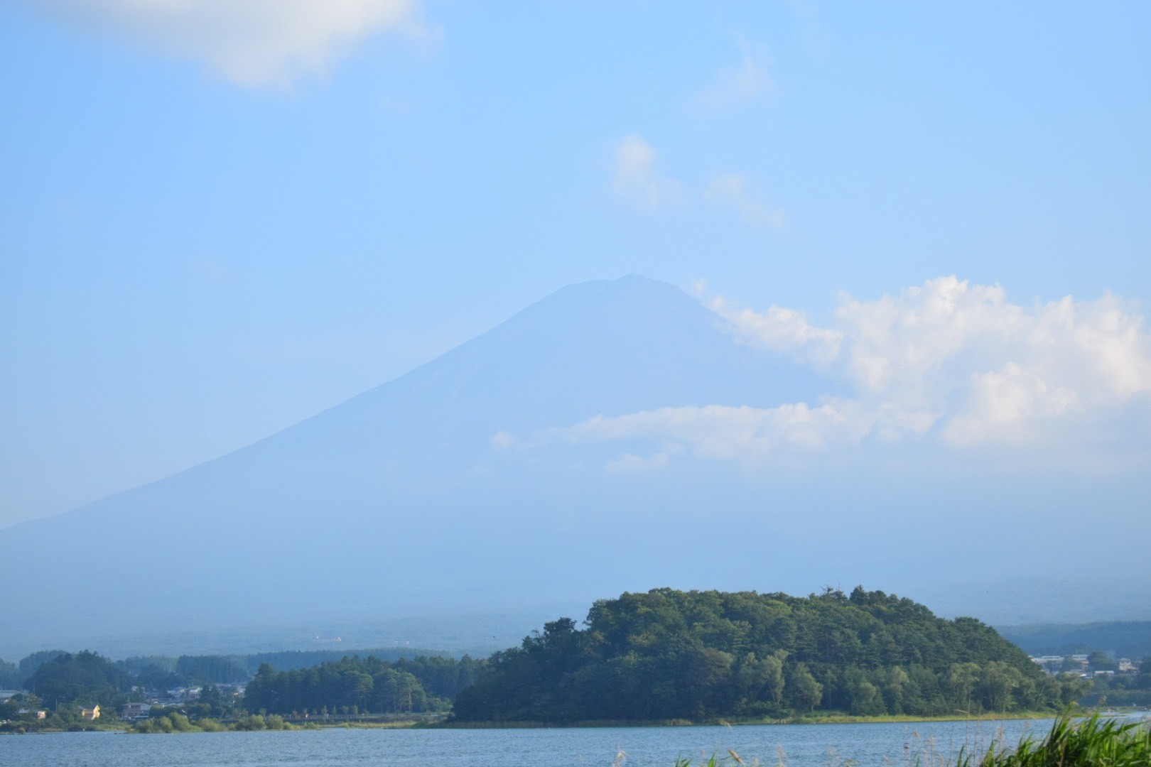 大石公園で撮った富士山の写真