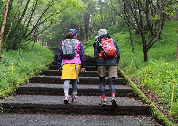富士山須走口登山道