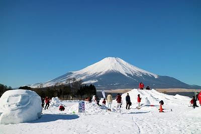 2020 山中湖雪まつり