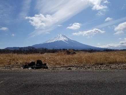 静岡県からの富士山