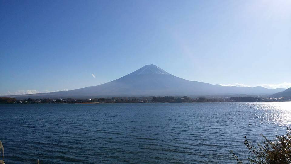 河口湖大石からの富士山