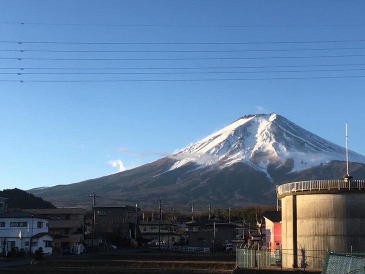 2017年最後の富士山