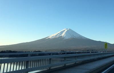 ブログ用写真(元旦撮影・河口湖大橋)